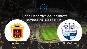 Jornada 9 de la Tercera División: previa del duelo Lanzarote - Güímar