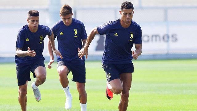La Juve de Cristiano se prepara para el Valencia