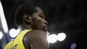 Kevin Durant ejerce de líder de los Warriors