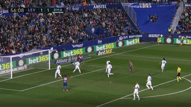 LALIGA | Levante-Real Madrid (2-2) | Keylor Navas volvió a ser protagonista