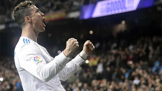 El tremendo grito de rabia de Cristiano Ronaldo tras su doblete