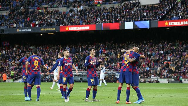 Las notas de los jugadores del Barça ante el Alavés