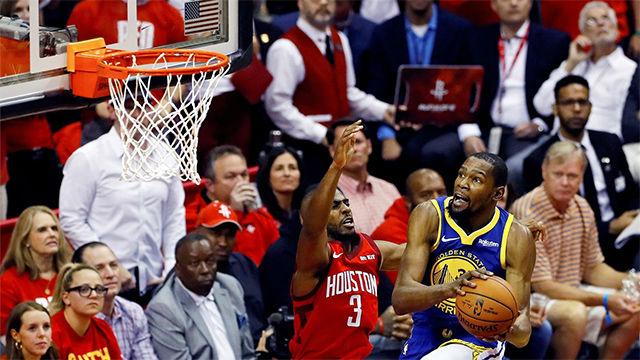 Los Rockets se llevaron la victoria ante los Warriors