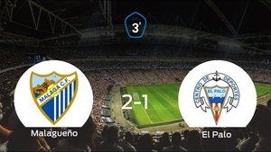 Los tres puntos se quedan en casa: At. Malagueño 2-1 El Palo