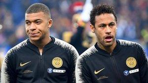Mbappé y Neymar pasaron el control antidoping en el PSG