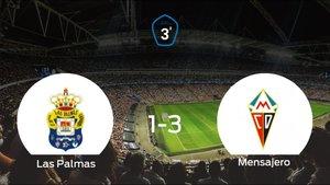 El Mensajero se impone al Las Palmas C y consigue los tres puntos (1-3)