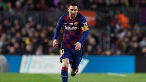 Messi descansa en la Champions
