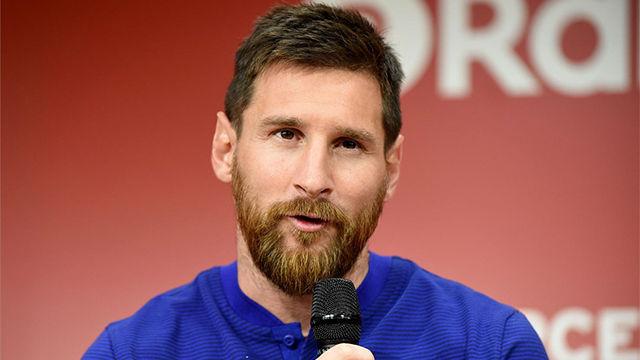 Messi habló de lo que espera de su primera temporada con Valverde