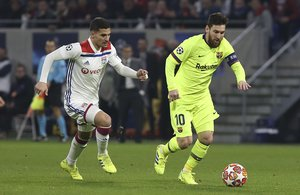 Messi ya lleva 130 partidos en Europa