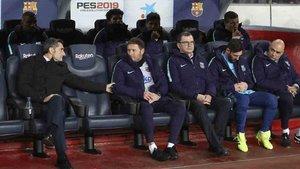 Messi pactó la titularidad con Valverde
