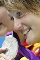 Mireia Belmonte fue plata en los 200 metros mariposa