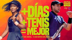 El Mutua Madrid Open anuncia sus cambios con este cartel