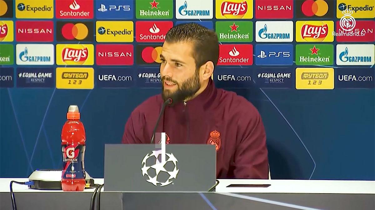 Nacho: Soy feliz en el Real Madrid, no me cambiaría por nadie