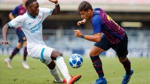 Nils Mortimer es una de las bazas para mantener el alto nivel en la UEFA Youth League