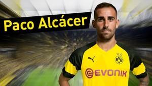 Paco Alcácer ya es jugador del Dortmund