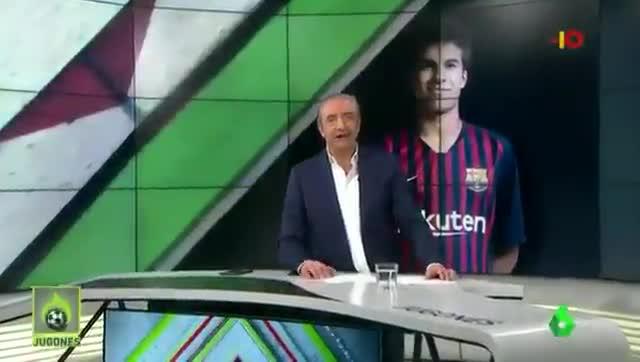 Pedrerol habla sobre Riqui Puig en Jugones