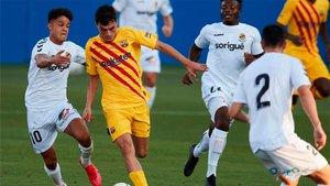 Pedri, una de las sensaciones en el Barça