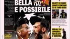 La portada de La Gazzetta dello Sport con Dybala y Messi de protagonistas