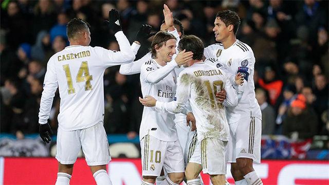 El Real Madrid hace los deberes ante el Brujas