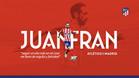 Renovación oficial de Juanfran Torres