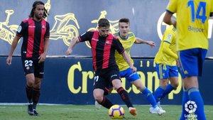 El Reus perdió en su último compromiso contra el Cádiz