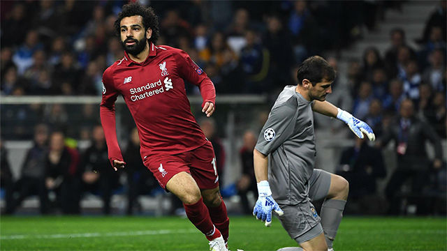 Salah challenges Messi for a spot at Champions League final