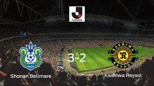 El Shonan Bellmare suma tres puntos después de vencer 3-2 al Kashiwa Reysol