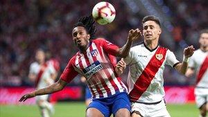 El Sporting de Portugal quiere sacar tajada por el pase de Geslon Martins al Atlético.