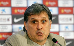 El Tata Martino, en rueda de prensa