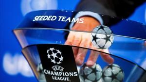 La UEFA modifica los sorteos de la Champions