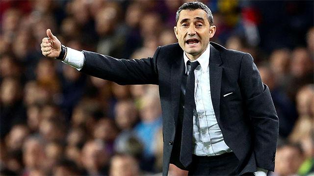 Valverde: Leo ha hecho un partido extraordinario