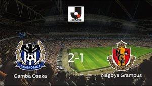 Victoria del Gamba Osaka por 2-1 frente al Nagoya Grampus