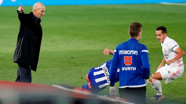 Zidane: No tengo explicación