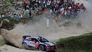 Thierry Neuville es el flamante líder de la primera etapa del Rally de Portugal