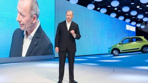 Thierry Bolloré, CEO de Renault, en Shanghái.