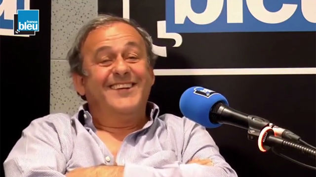 Image result for Michel Platini and Adrien Rabiot