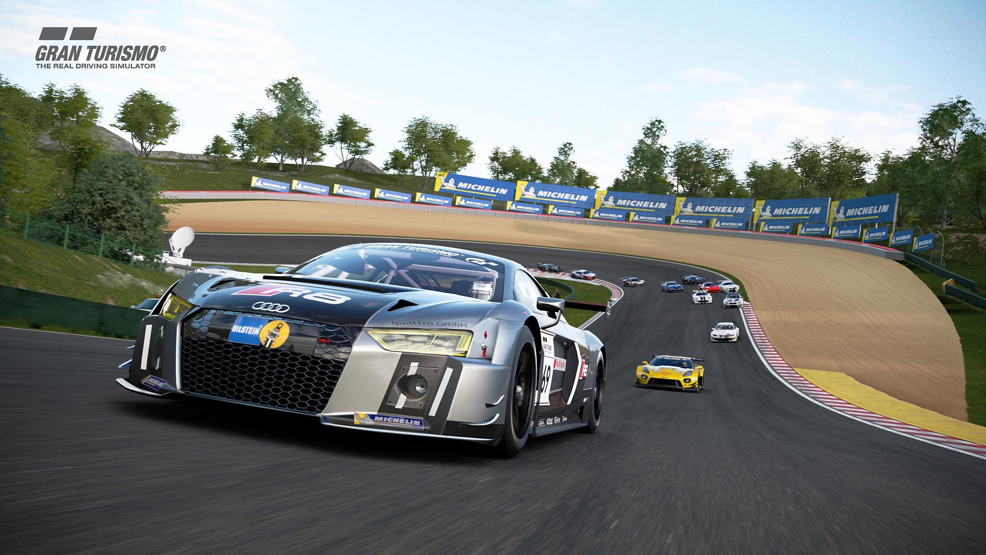 Michelin se asocia con Gran Turismo Sport.