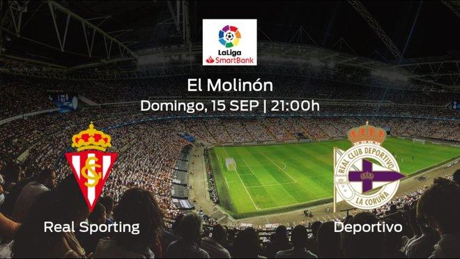 Jornada 5 de la Segunda División: previa del duelo Real Sporting - Deportivo