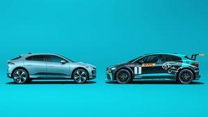 Jaguar I-Pace e I-Pace eTrophy.