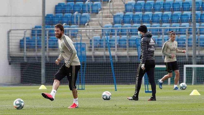 Zidane rebaja el ritmo de los entrenamientos