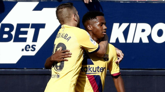 El 1x1 del Barça ante Osasuna
