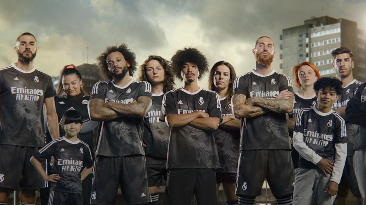 Adidas y Human Race presentan la nueva camiseta del Real Madrid
