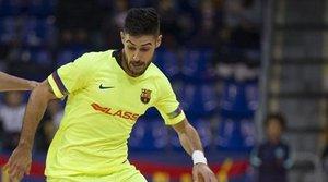 Adolfo ha firmado un hat-trick en el cuarto partido de la serie (3-7) ante ElPozo Murcia
