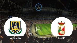El Alcorcón B y el RAlcalá empatan y se llevan un punto (1-1)