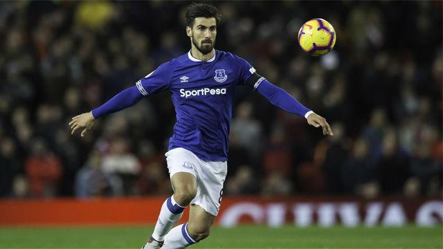 André Gomes ya tiene canción en el Everton: Es un crack, distinto a los demás
