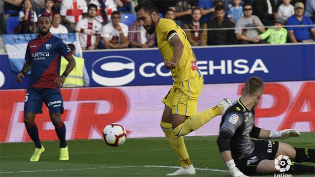 Así fue el doblete de Borja Iglesias que pone al Espanyol segundo