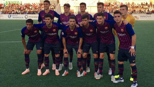 Así fue la victoria del Barça B ante el Ontinyent (0-3)