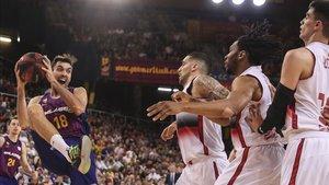 El Barça puso garra y acierto para aplastar al Zaragoza