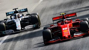 La batalla entre Leclerc y Hamilton fue épica
