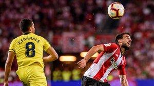 Beñat, en el partido de Liga disputado ante el Villarreal